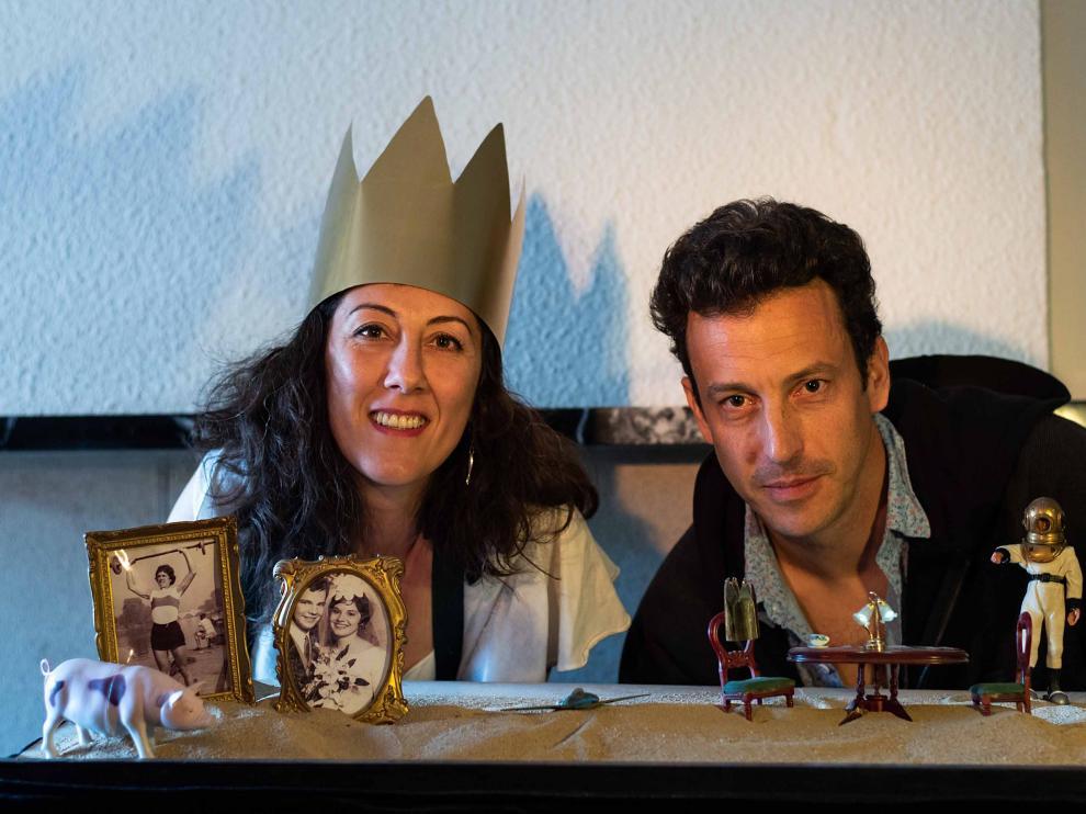 Marta Cortel y David Moreau, de la compañía El Mar del Norte