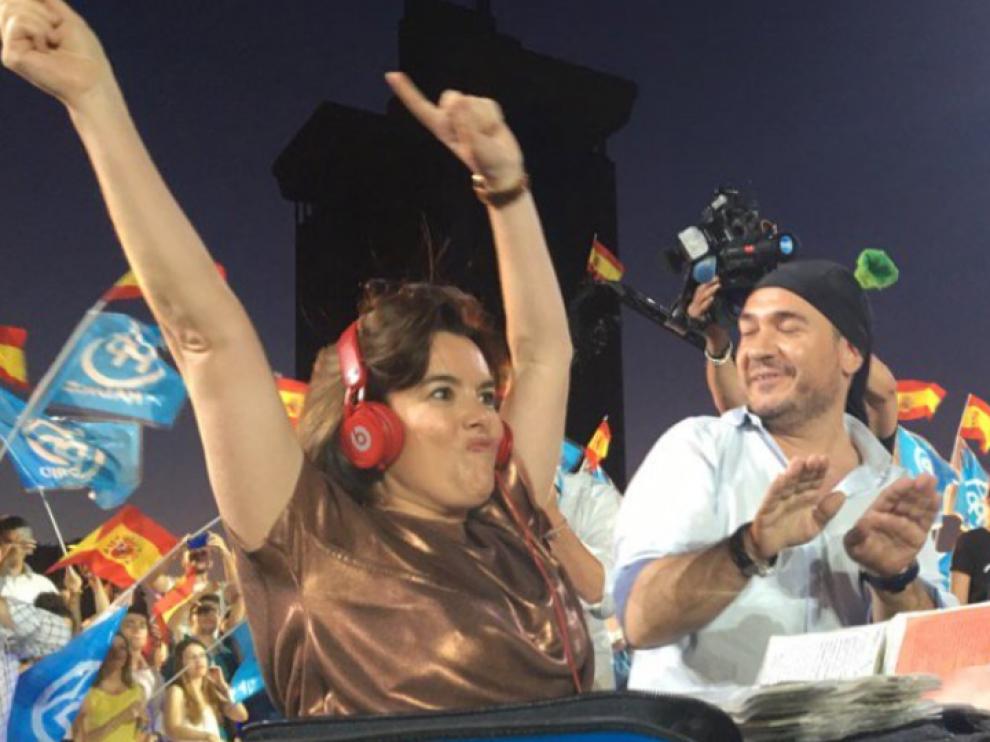 Twitter resucita a Soraya Saénz de Santamaría ante los malos resultados del PP.
