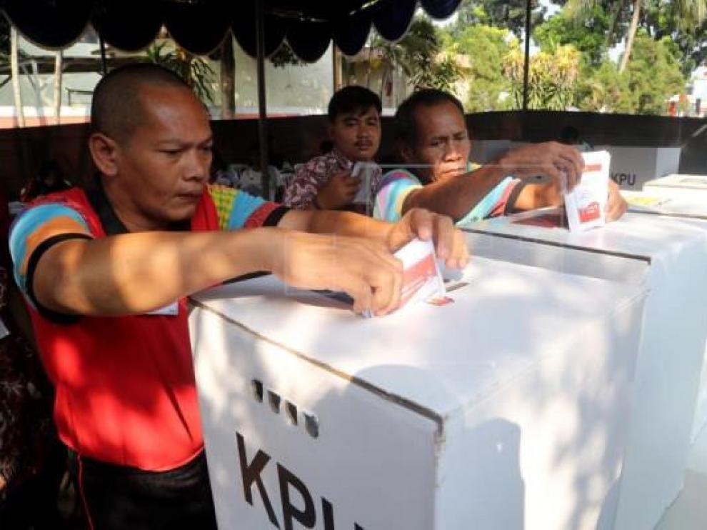 Elecciones en Indonesia.