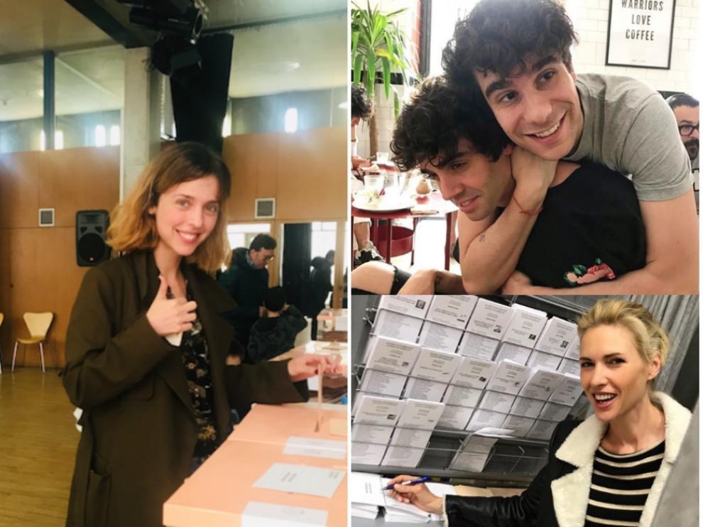 Famosos votando en las elecciones generales: de Leticia Dolera a Los Javis