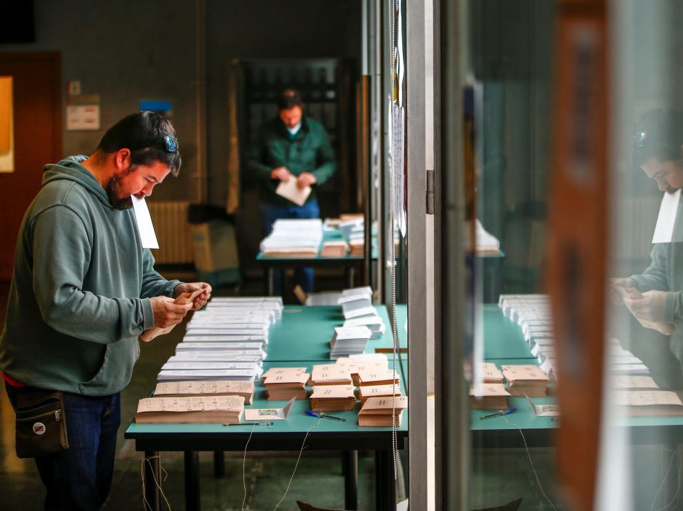 Sigue la jornada electoral en España.