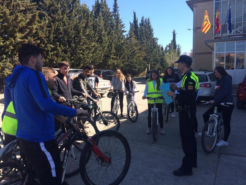 Uno de los objetivos es concienciar a la población del uso de las bicicletas.