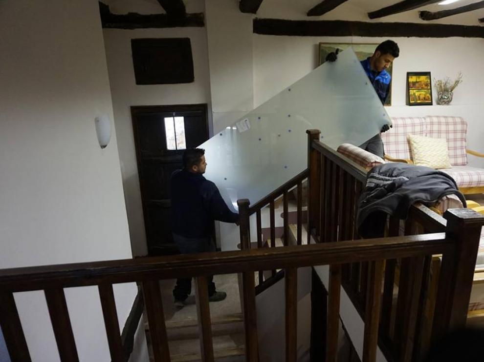 restauración en Albarracín