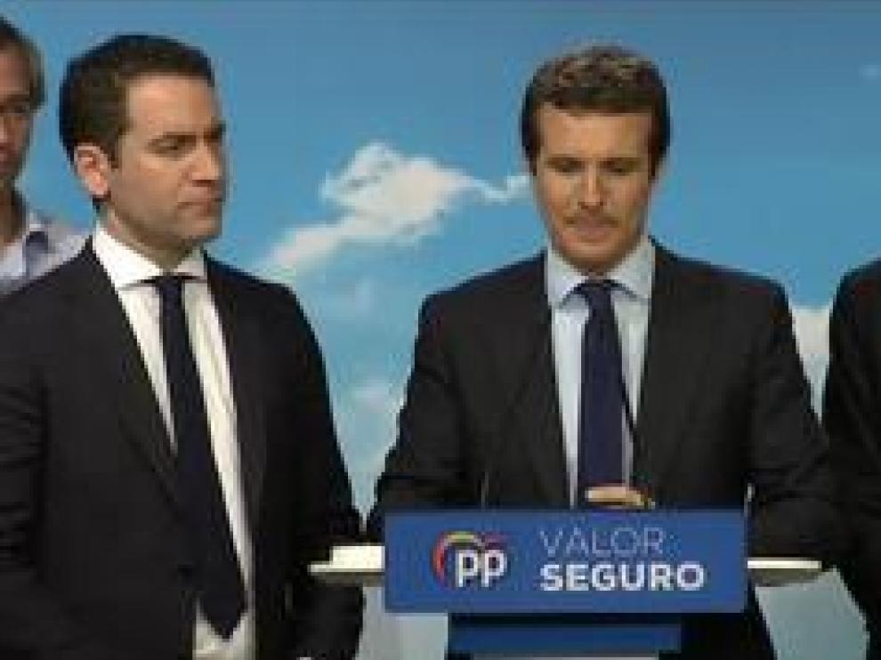 """El líder del PP ha felicitado a Pedro Sánchez y """"espera que llegue a un acuerdo sin independentistas"""""""