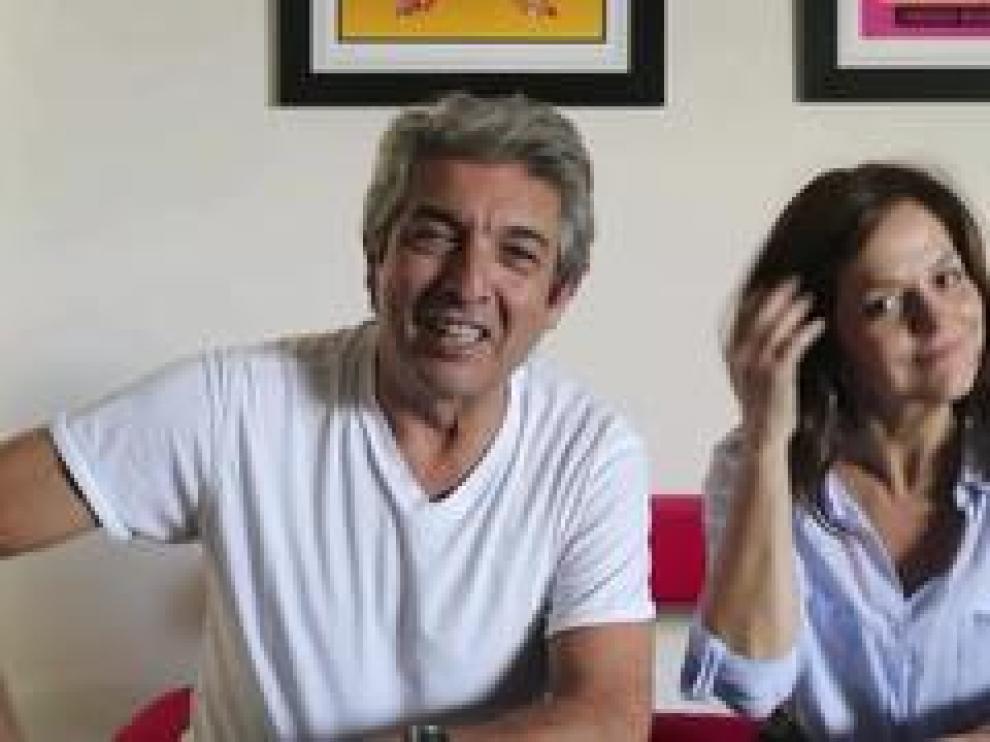 El actor argentino Ricardo Darín saluda en exclusiva a Zaragoza para promocionar su obra 'Escenas de la vida conyugal' con la que estará en la capital aragonesa a finales de octubre.