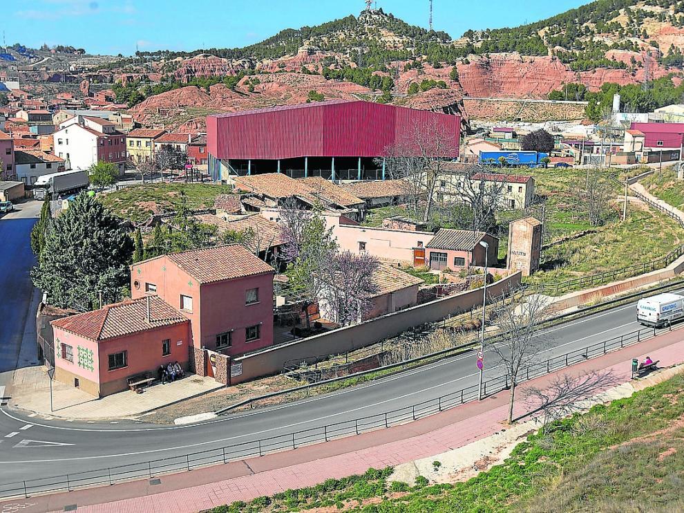 El extenso alfar de los hermanos Górriz incluye un complejo de talleres, hornos y otras dependencias.