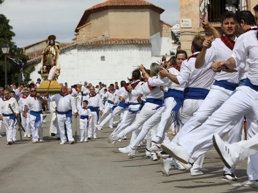 Baile de San Roque, Calamocha/16-08-18/foto:Javier Escriche [[[FOTOGRAFOS]]]