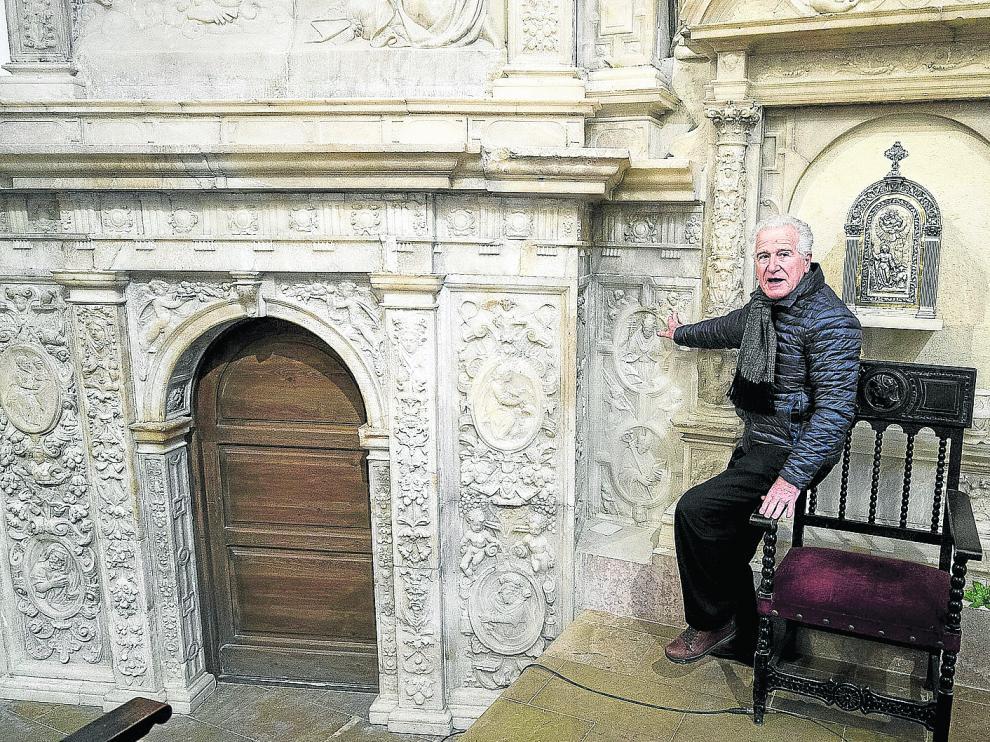 El retablo de alabastro que engalana la parroquia de la Asunción de Escatrón es una de las joyas del Renacimiento aragonés.