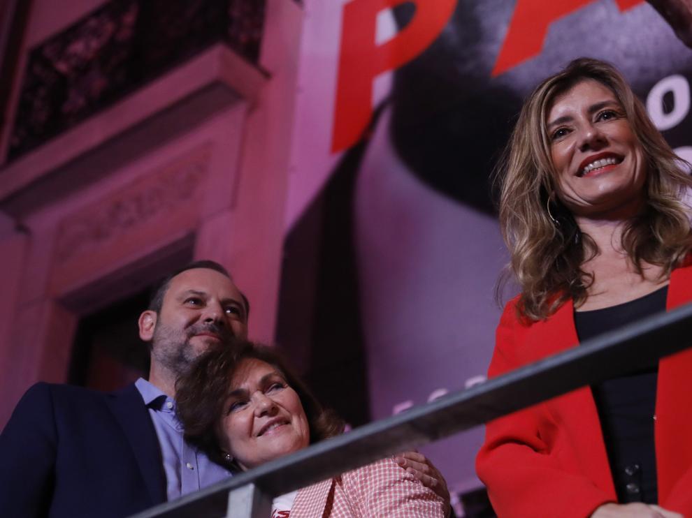 Victoria electoral del PSOE en las elecciones generales.