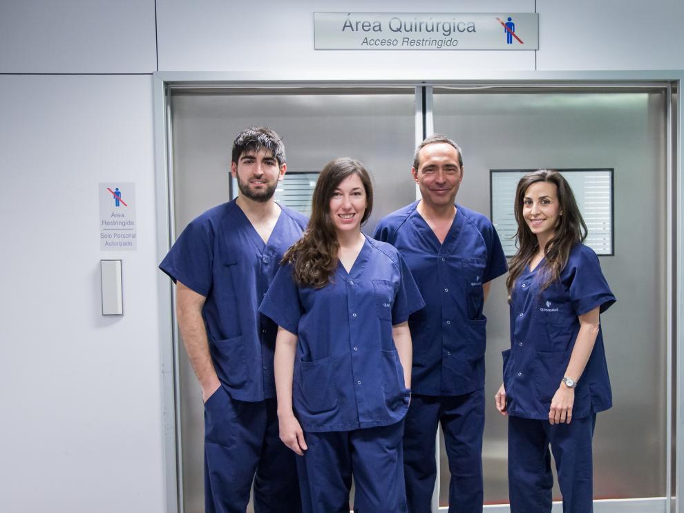 Los nuevos profesionales de Cirugía General del consultorio médico de Heraldo.es.