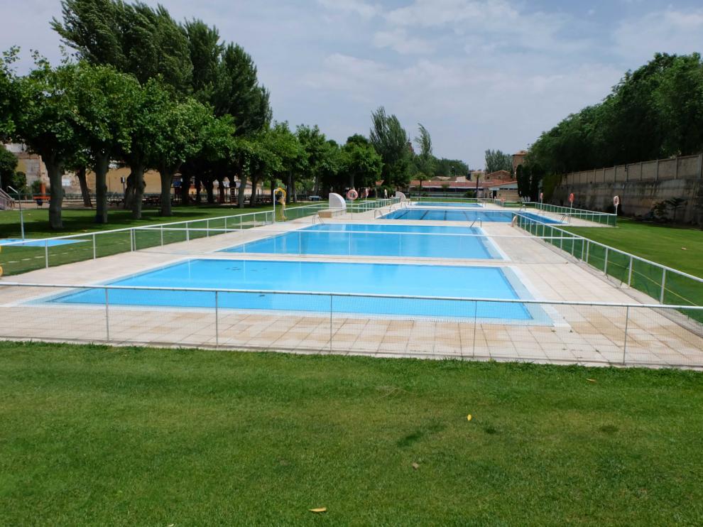 Las piscinas de La Glorieta ofrecen servicio en la temporada de verano.