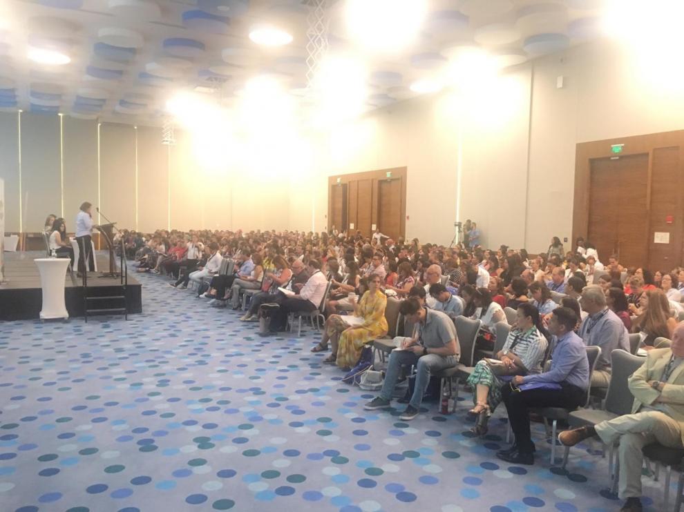 El congreso reúne a más de medio millar de asistentes llegados de 19 países latinoamericanos.