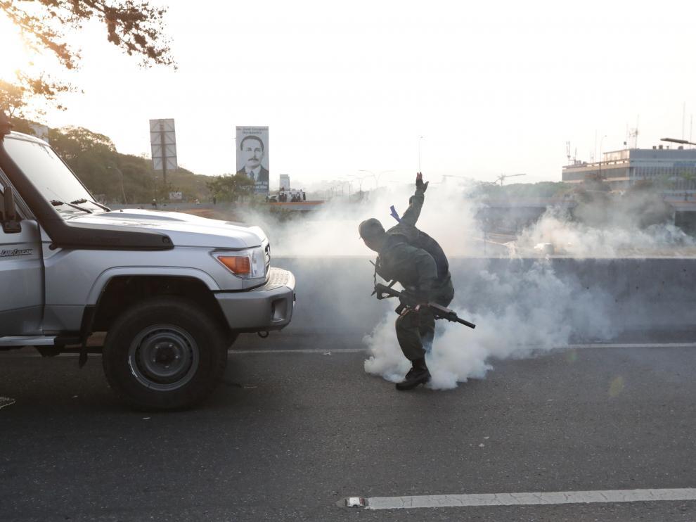 Disparos en Caracas.