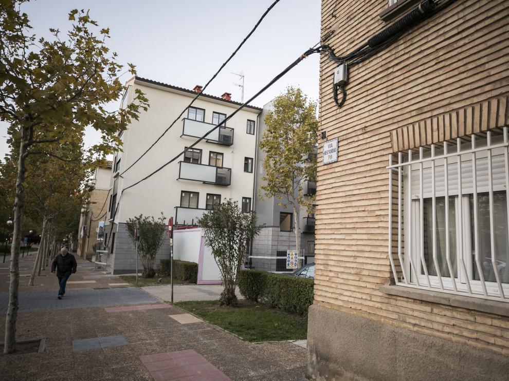 Grupo Alferez Rojas. Mejoras en fachadas y accesibilidad de edificios / 07-11-2018 / FOTO: GUILLERMO MESTRE [[[FOTOGRAFOS]]]