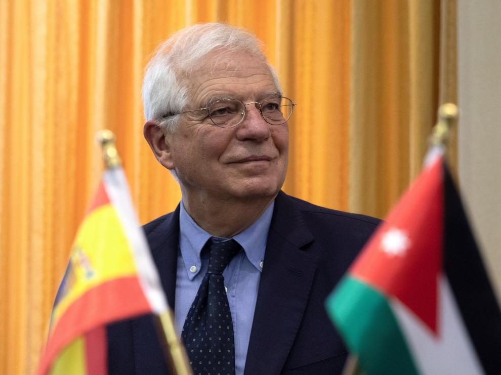 El ministro de Asuntos Exteriores, Unión Europea y Cooperación en funciones, Josep Borrell.