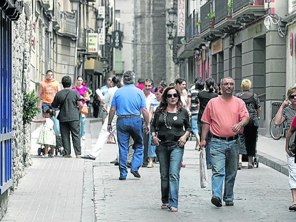 El casco urbano invita a pasear por sus calles.