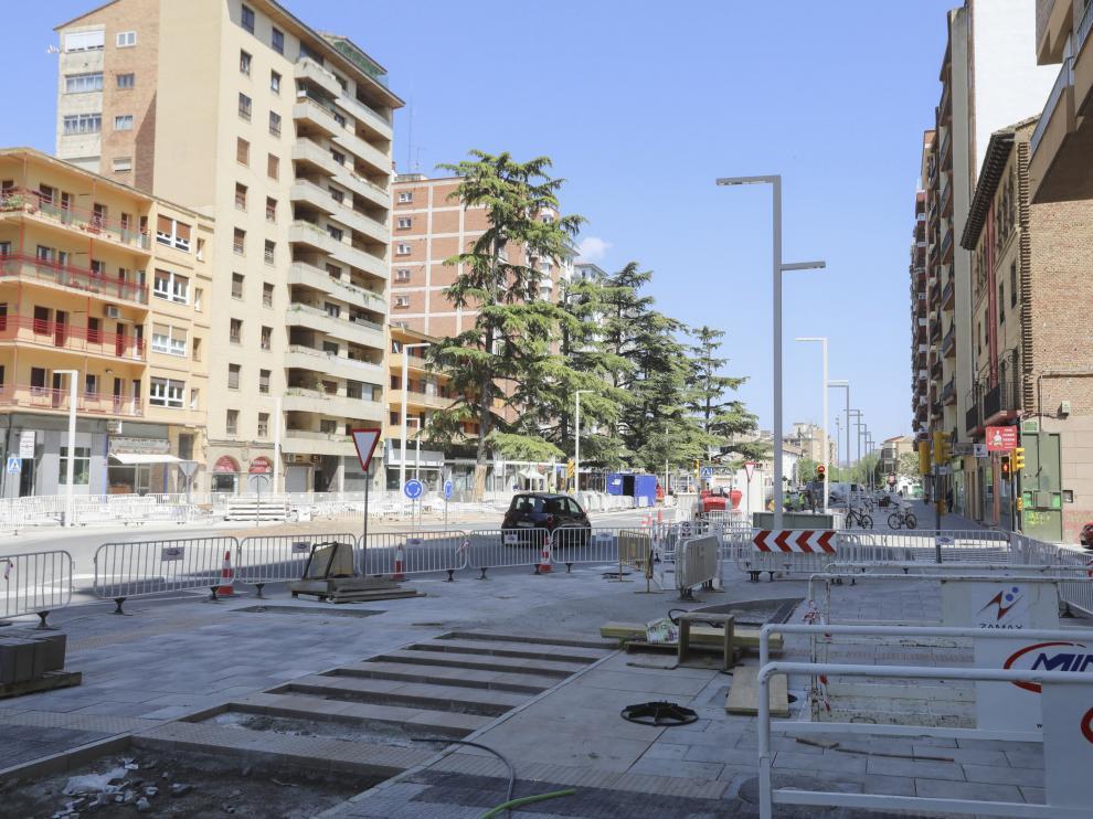 La reurbanización de la primera fase de Ramón y Cajal está a punto de terminar.