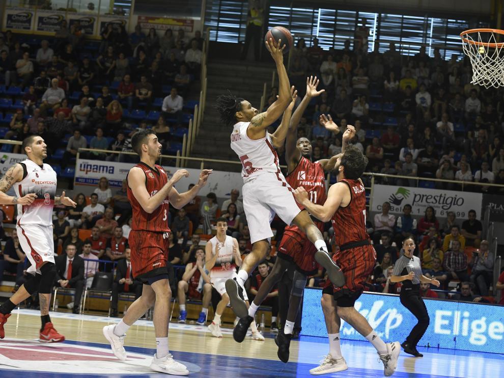 Fuenlabrada-Tecnyconta de la ACB.