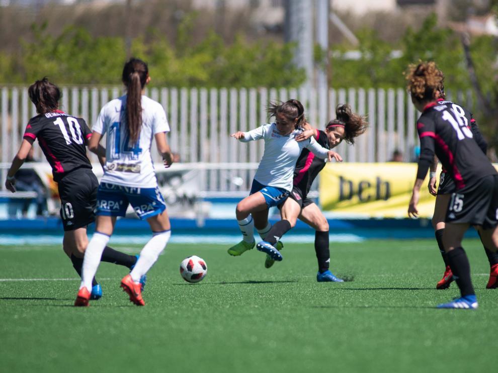 Fútbol. Promoción de ascenso- Zaragoza CFF vs. Tacón.