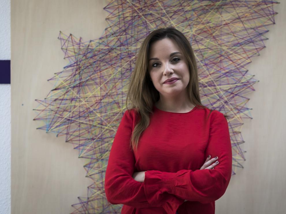 La candidata de Podemos-Equo, Maru Díaz