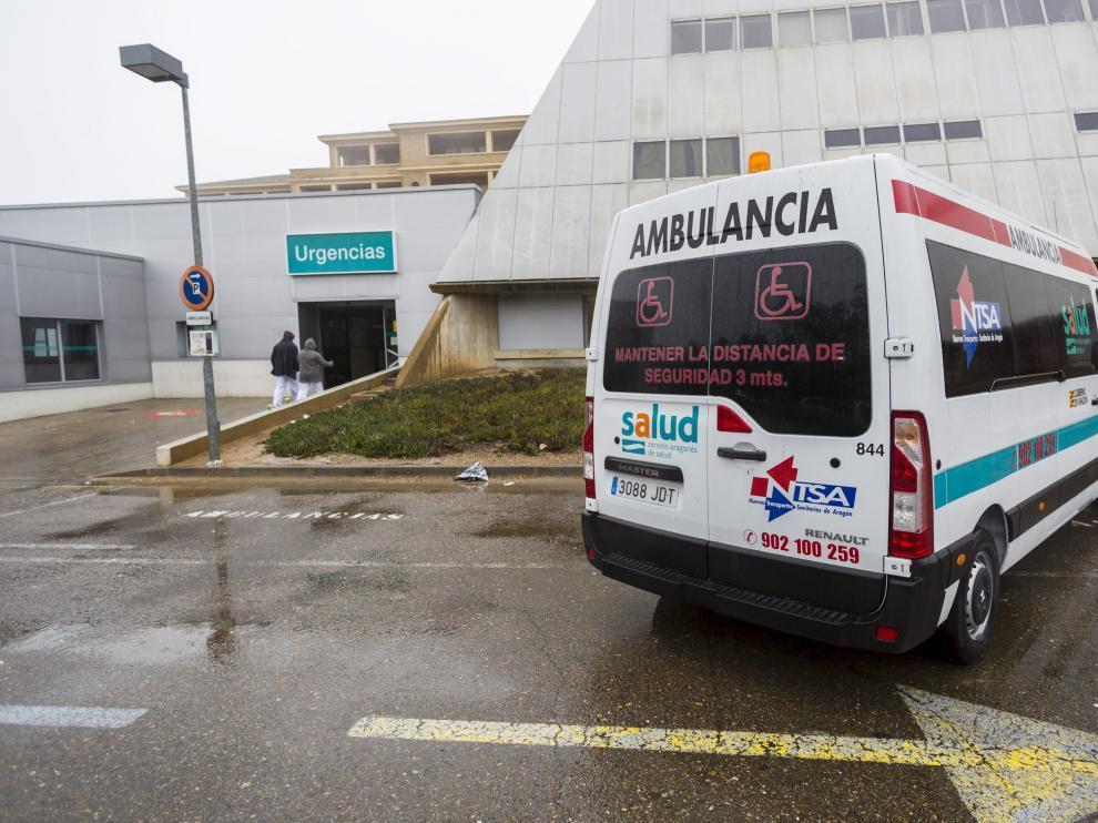 Urgencias del Hospital Royo Villanova en Zaragoza
