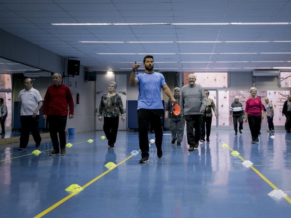 De enero a junio, los participantes siguen el programa de entrenamiento diseñado por el grupo de investigación Genud de la Universidad de Zaragoza