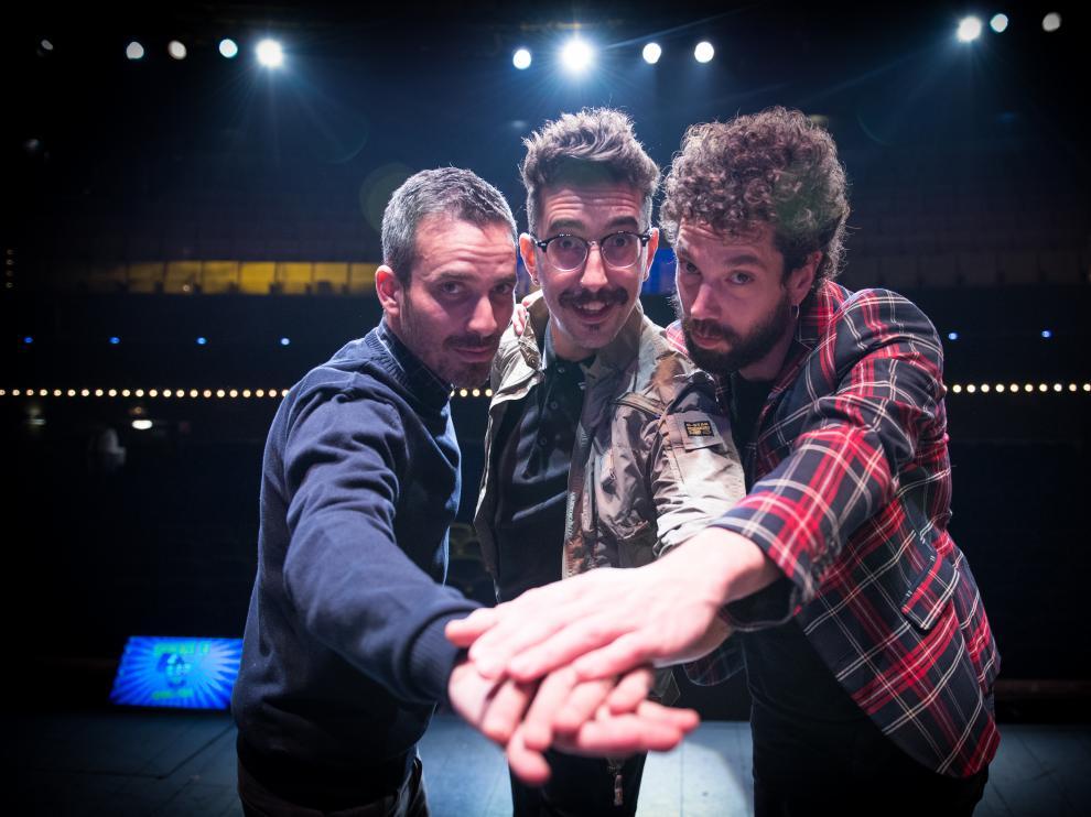 Juan Ibáñez, Damián Mollá y Jorge Marron son 'Tres Calaveras Huecas'.