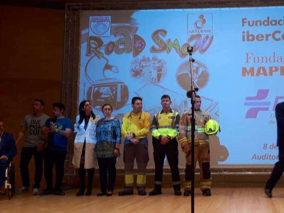 Primer road show promovido por la Dirección General de Tráfico.