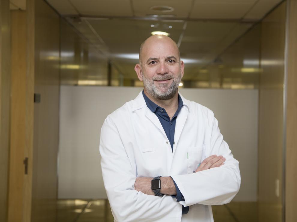 El doctor Jorge Solano, jefe de la Unidad de Cirugía Laparoscópica Avanzada de QuirónSalud.
