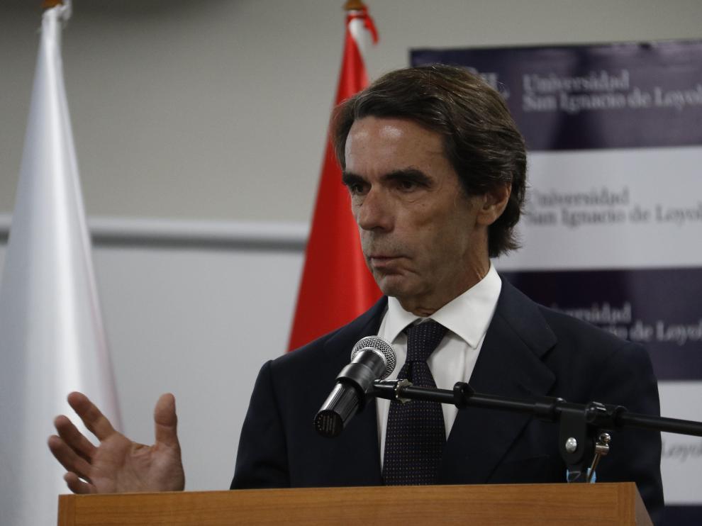 José María Aznar en Paraguay.