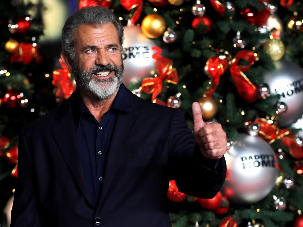 Actor Mel Gibson arrives at the premiere for 'Daddy's Home 2' in London, Britain November 16, 2017. REUTERS/Eddie Keogh [[[REUTERS VOCENTO]]] FILM-DADDYSHOME/