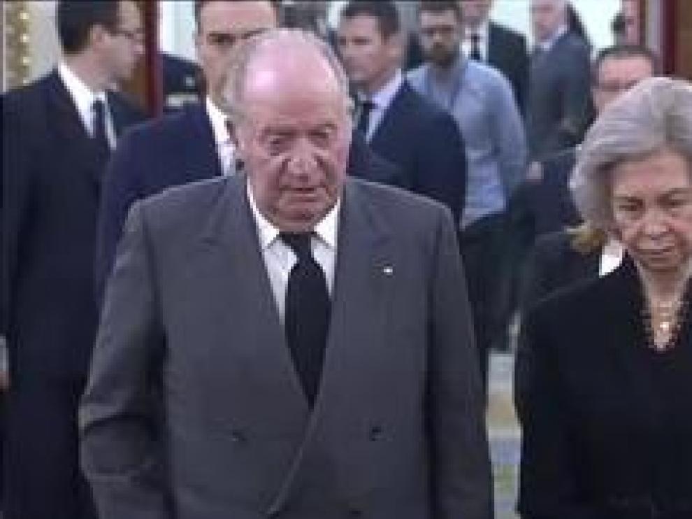 Don Juan Carlos y doña Sofía se han mostrado muy emocionados