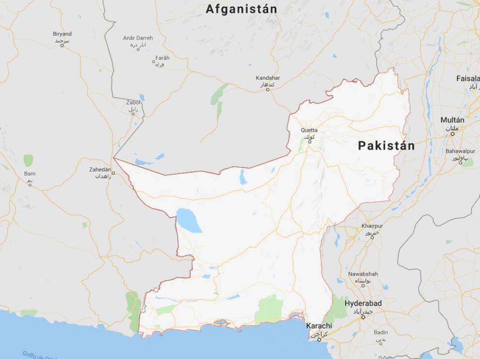 El ataque ha tenido lugar en la provincia de Baluchistán.