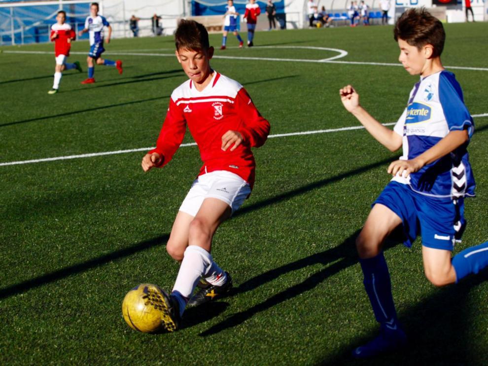 Fútbol. Alevín Preferente- Ebro vs. Stadium Venecia.