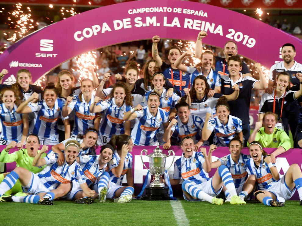 La Real Sociedad gana la Copa de la Reina al Atlético de Madrid