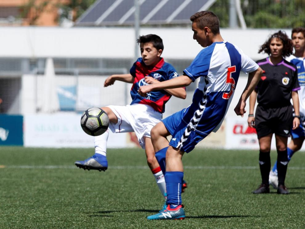 Fútbol. Infantil- CD Ebro vs. SD Huesca.
