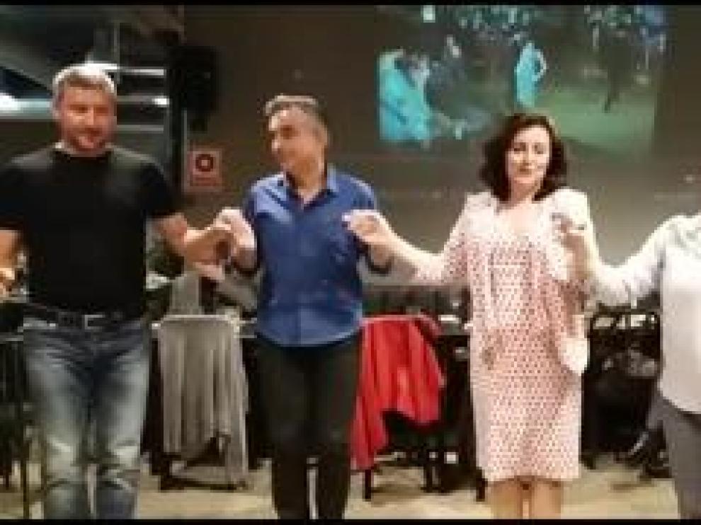 Se trata del XI festival de danzas griegas que se desarrolla en la ciudad y que ha congregado a un centenar personas durante cuatro jornadas.