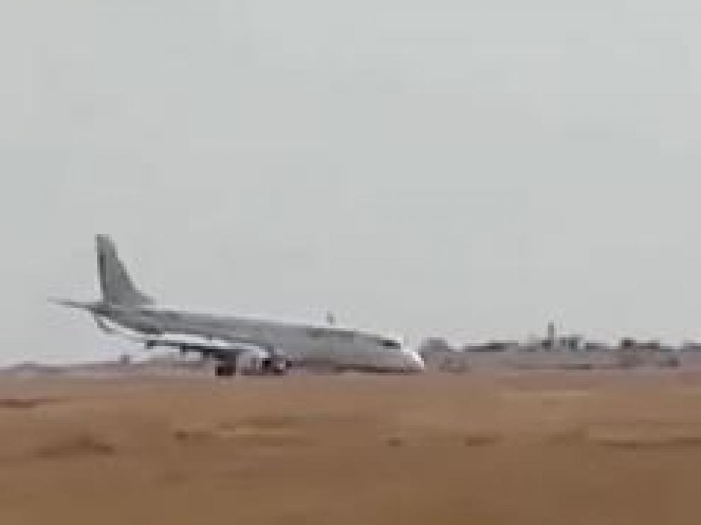 La pericia del piloto evitó que no hubiera víctimas entre los 89 pasajeros