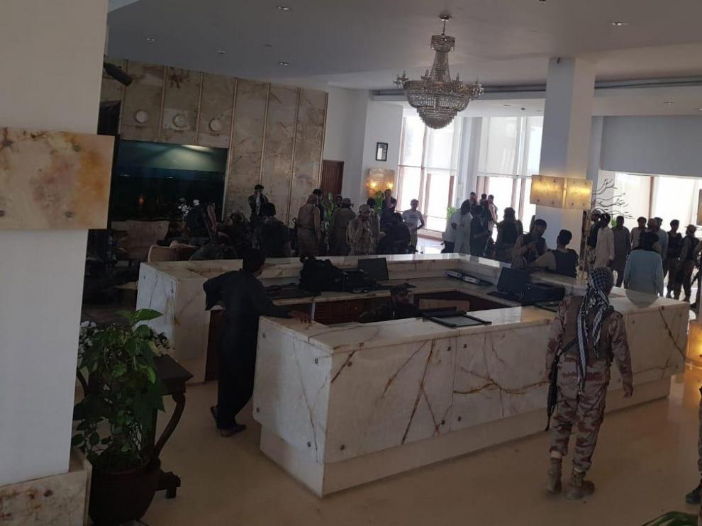 Hotel atacado en Pakistán.