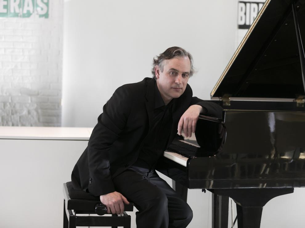 Mariano Ferrández, hace unas semanas en Madrid, donde ofreció un concierto.