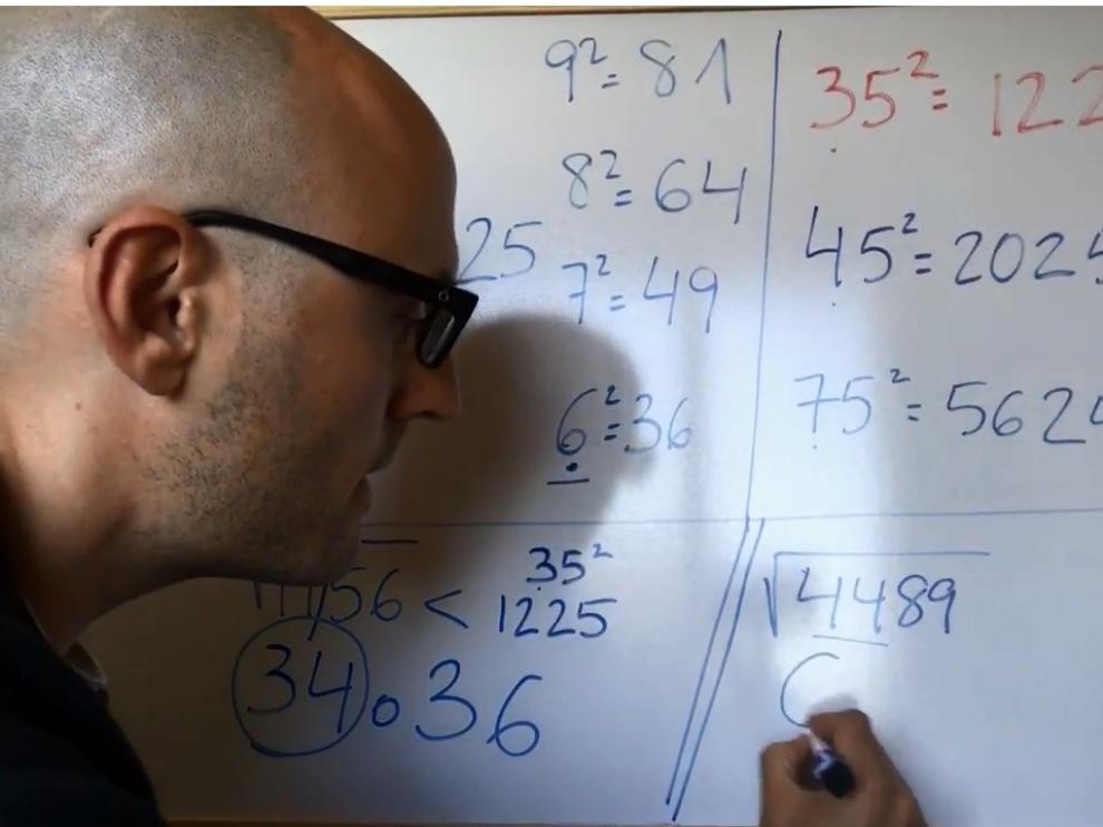Nacho Ruiz, profesor y youtuber zaragozano, autor del libro 'Multiplica como nadie'.