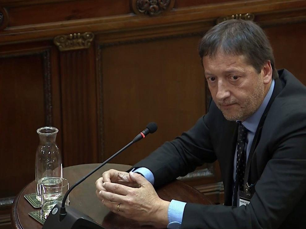 El exdirector del gabinete jurídico de la Generalitat, Francesc Esteve.