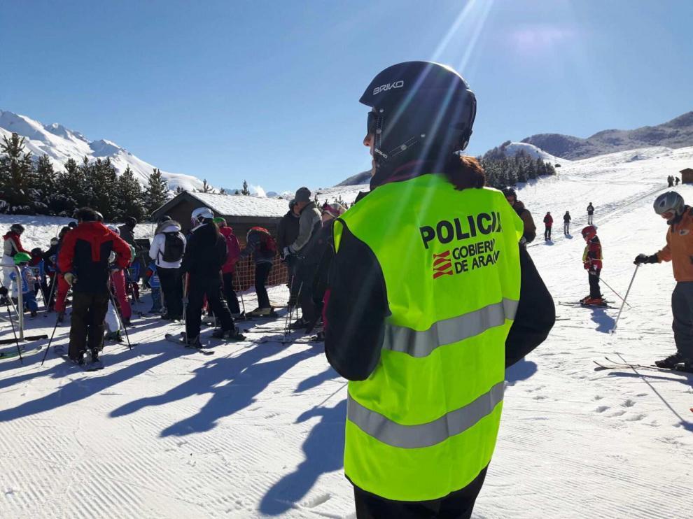 La Policía lleva tres años realizando controles en las pistas.