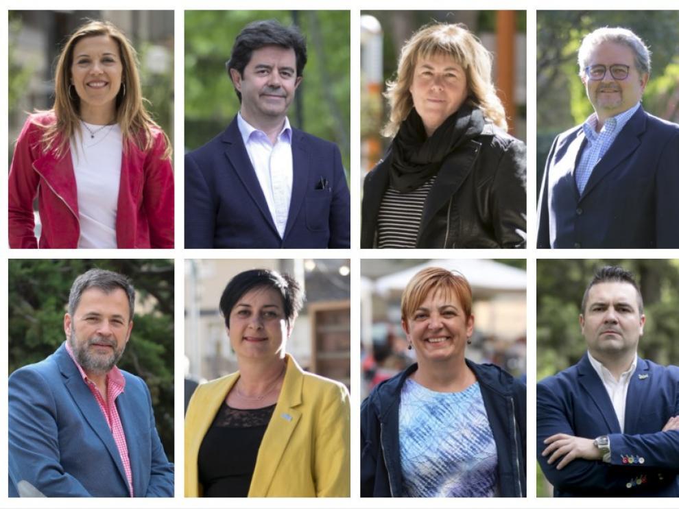 Candidatos Ayuntamiento de Huesca el 26-M.