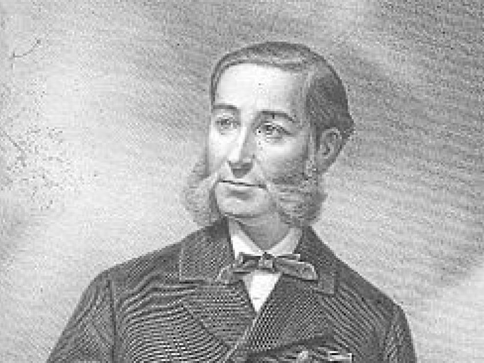 El almirante Casto Méndez Núñez.
