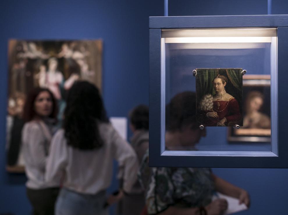 Esta obra renancentista de Lavinia Fontana es la única de una mujer expuesta en el Museo de Zaragoza.