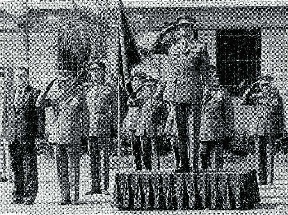 El rey Juan Carlos I en Calatayud en 1979.