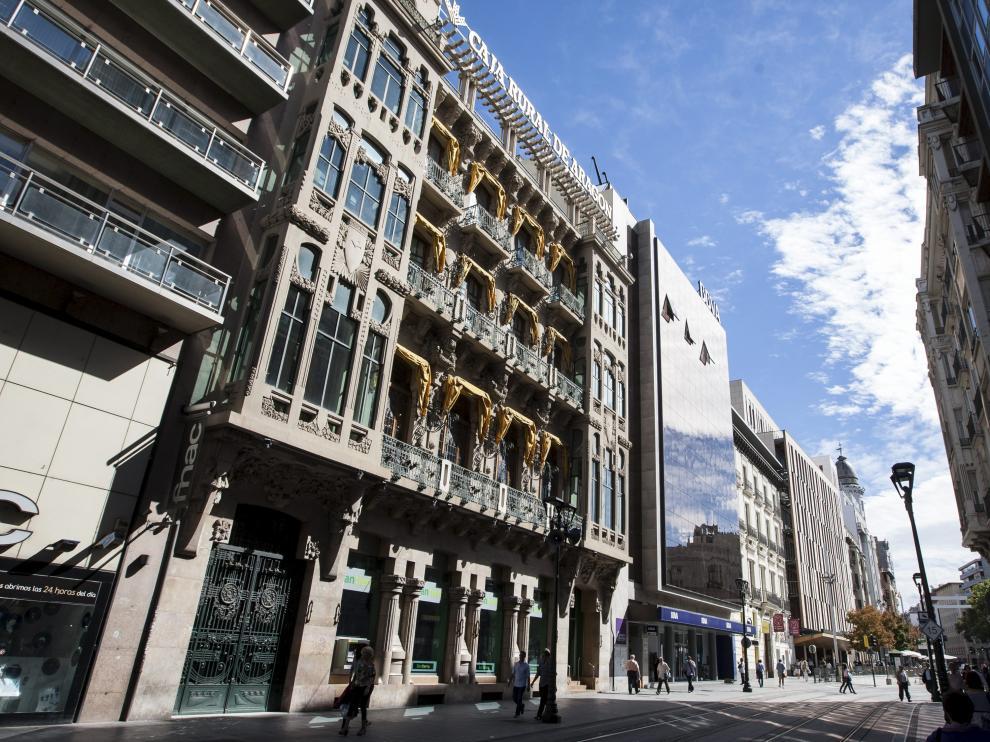 Sede de Bantierra en Zaragoza.