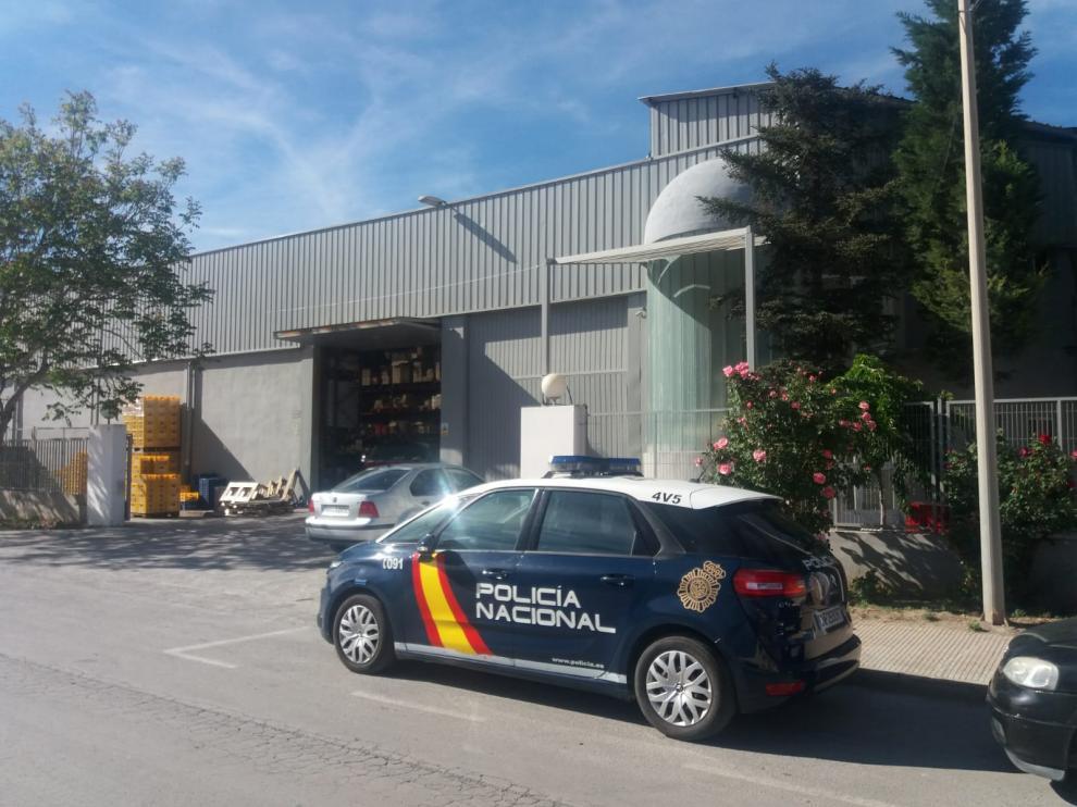 El accidente ha ocurrido en el polígono la Paz de Teruel.