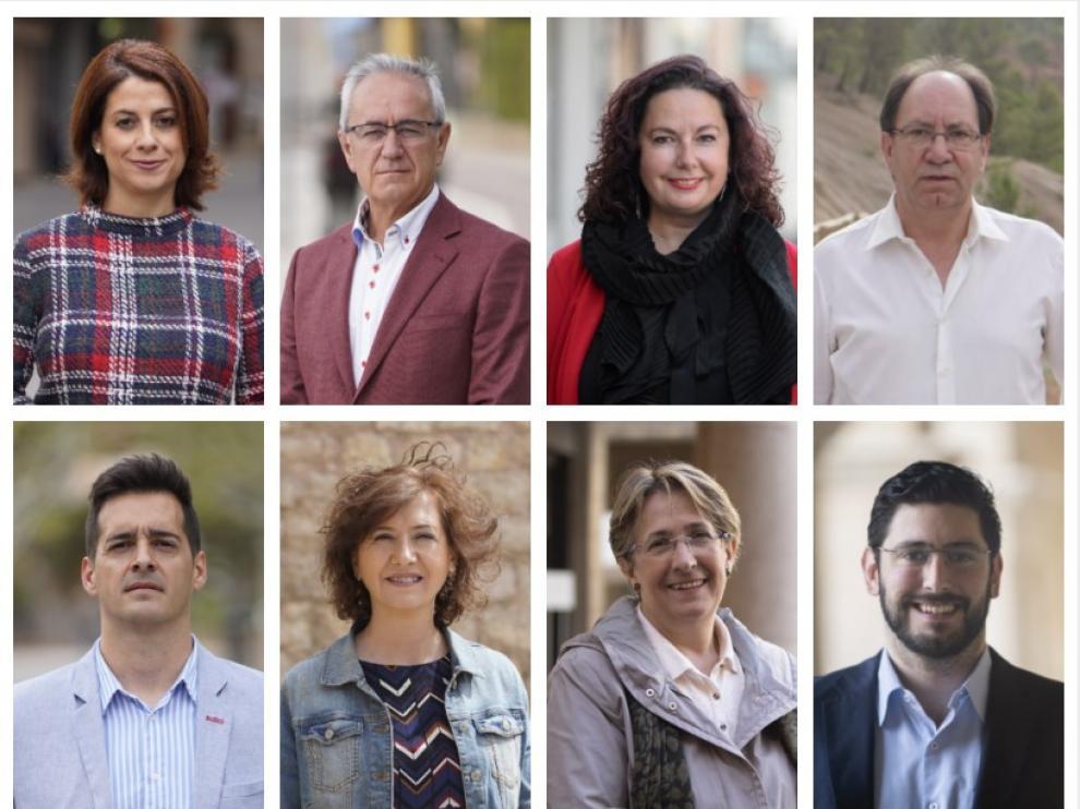 Candidatos Ayuntamiento de Teruel el 26-M.